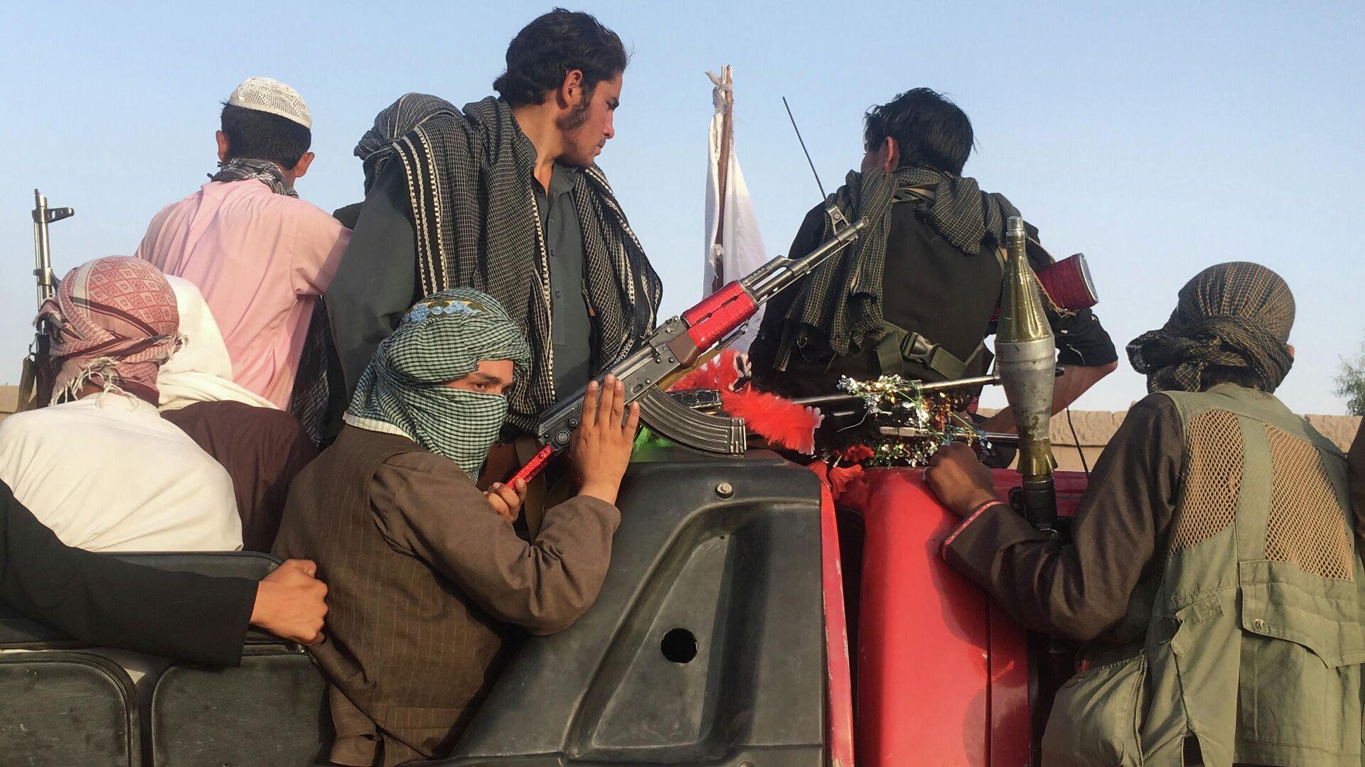 Боевики радикального движения Талибан* в Афганистане - РИА Новости, 1920, 31.07.2021