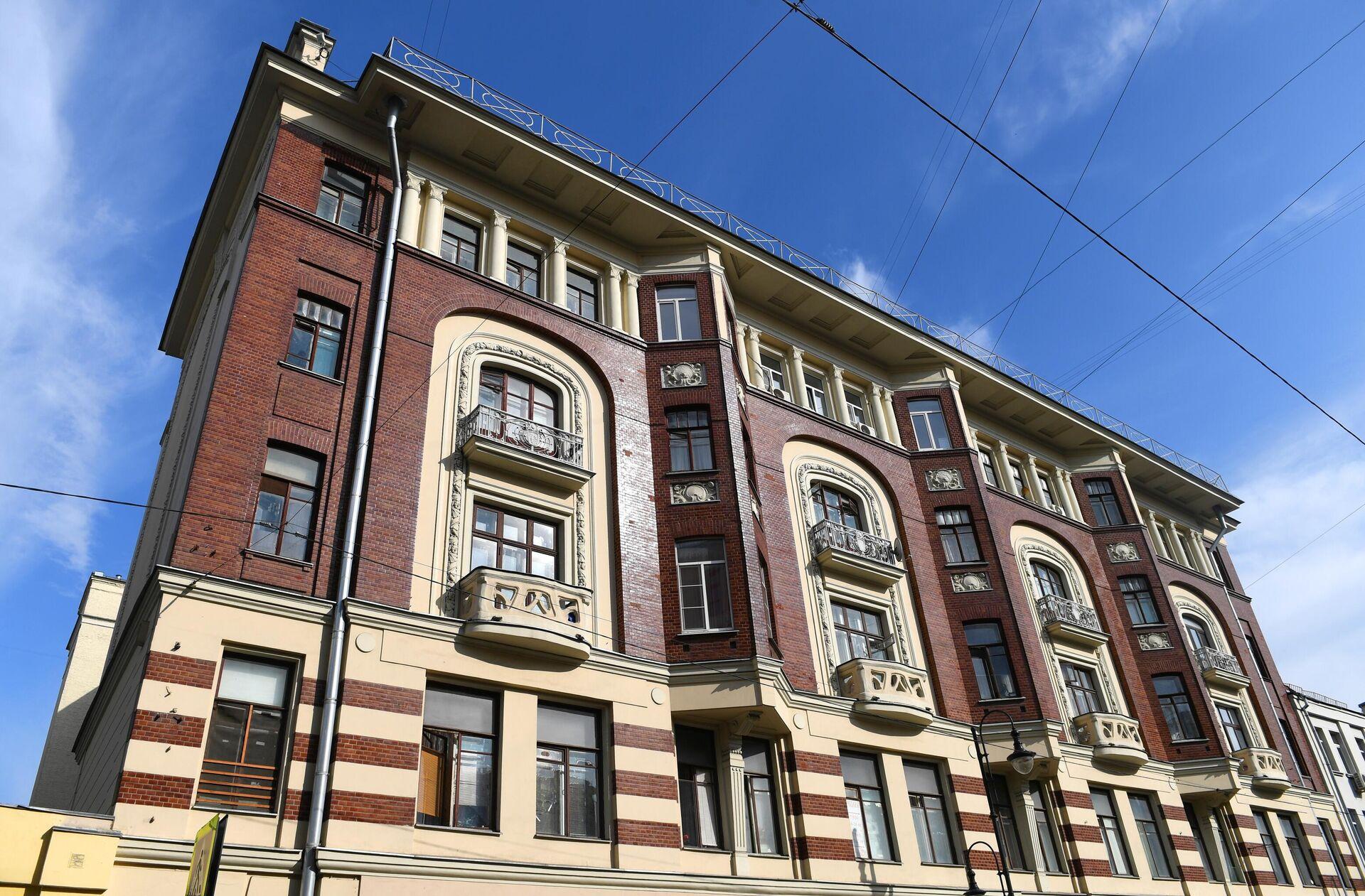 Многоквартирный дом на Большой Дмитровке, 22 в Москве - РИА Новости, 1920, 14.07.2021