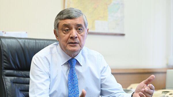Специальный представитель президента России по Афганистану Замир Кабулов во время интервью