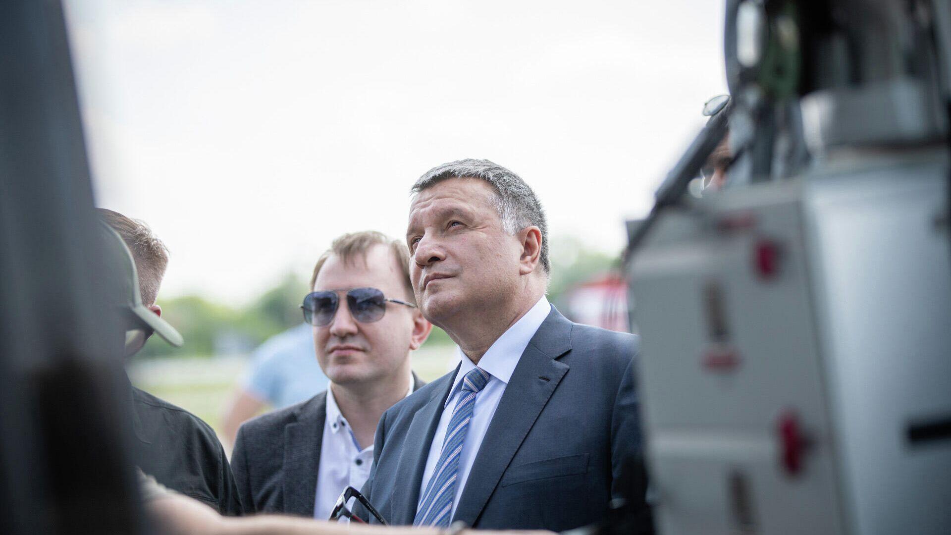 Министр внутренних дел Украины Арсен Аваков  - РИА Новости, 1920, 15.07.2021