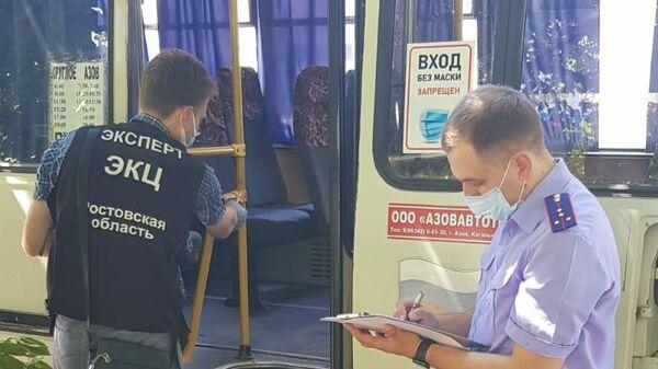В Ростовской области мужчина с ножом напал на пассажиров автобуса