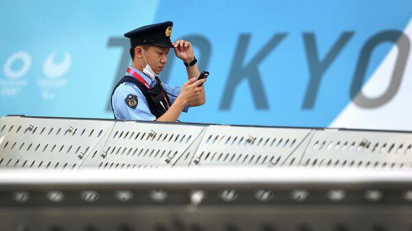 Офицер полиции в Токио