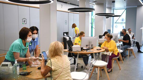 Офис Сбера нового формата в Новосибирске