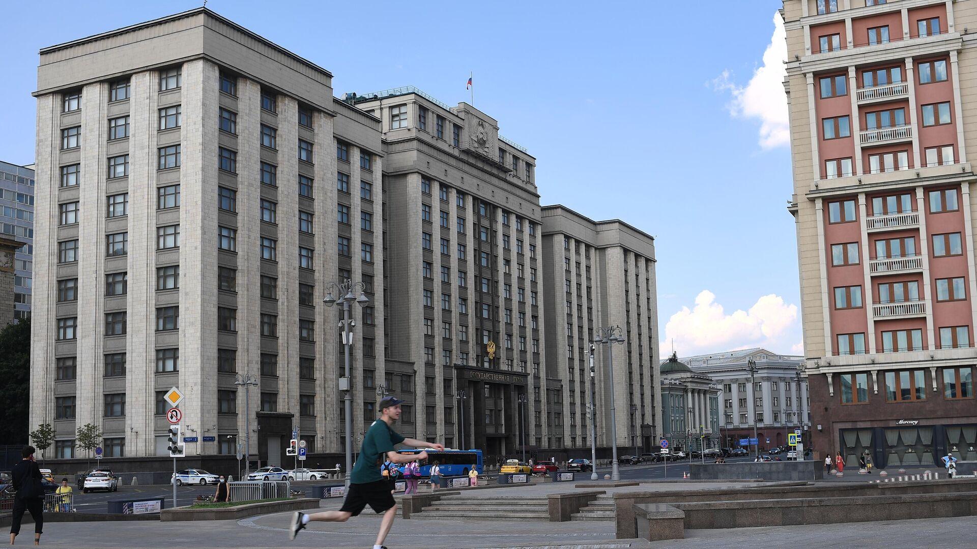 Здание Государственной думы РФ в Москве - РИА Новости, 1920, 23.09.2021