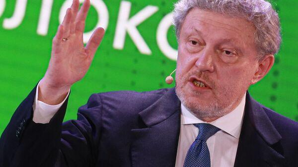 Председатель Федерального политического комитета партии Яблоко Григорий Явлинский