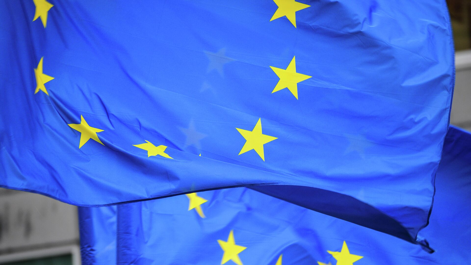 Флаги Евросоюза - РИА Новости, 1920, 14.09.2021