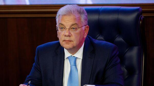 Директор Федеральной службы по военно-техническому сотрудничеству (ФСВТС) Дмитрий Шугаев