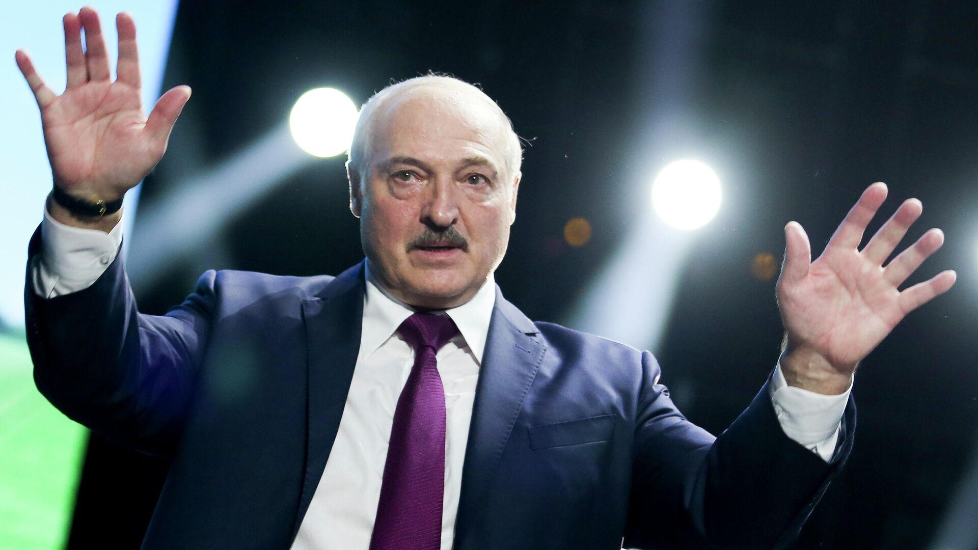 Президент Республики Беларусь Александр Лукашенко - РИА Новости, 1920, 19.07.2021