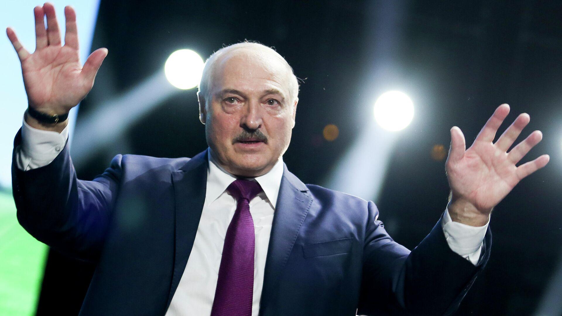 Президент Республики Беларусь Александр Лукашенко - РИА Новости, 1920, 21.07.2021