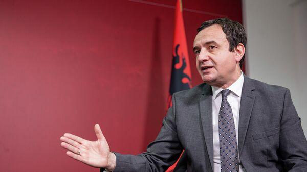 Премьер-министр Косова Альбин Курти