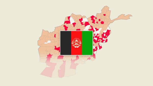 Афганистан-2021: какие районы заняли талибы