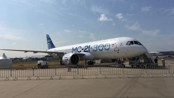 Среднемагистральный пассажирский самолет МС-21-300
