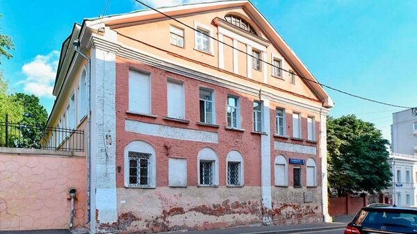 Княжеские палаты в Подкопаевском переулке Москвы