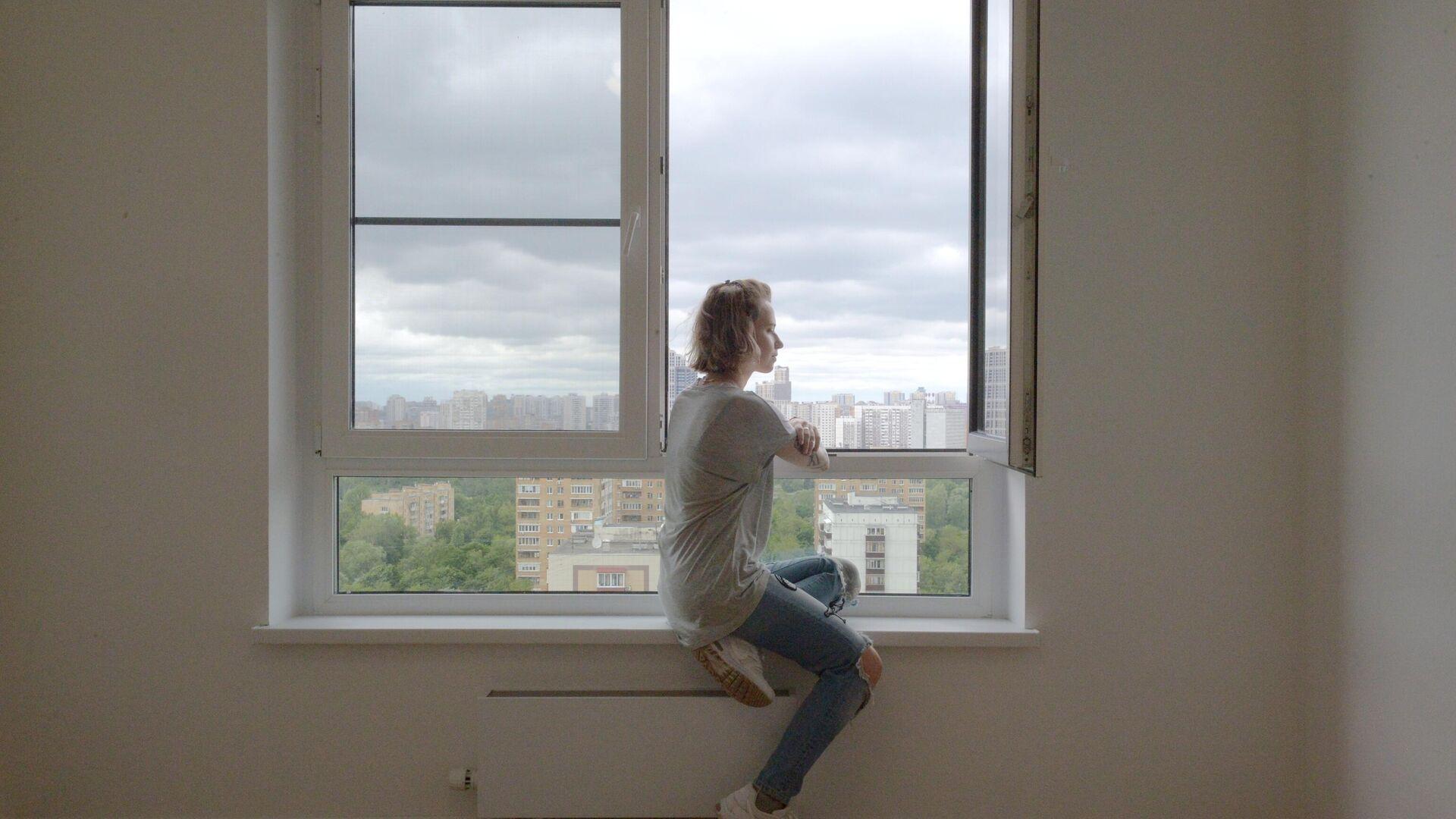 Дом, введенный по программе реновации жилищного фонда - РИА Новости, 1920, 01.09.2021