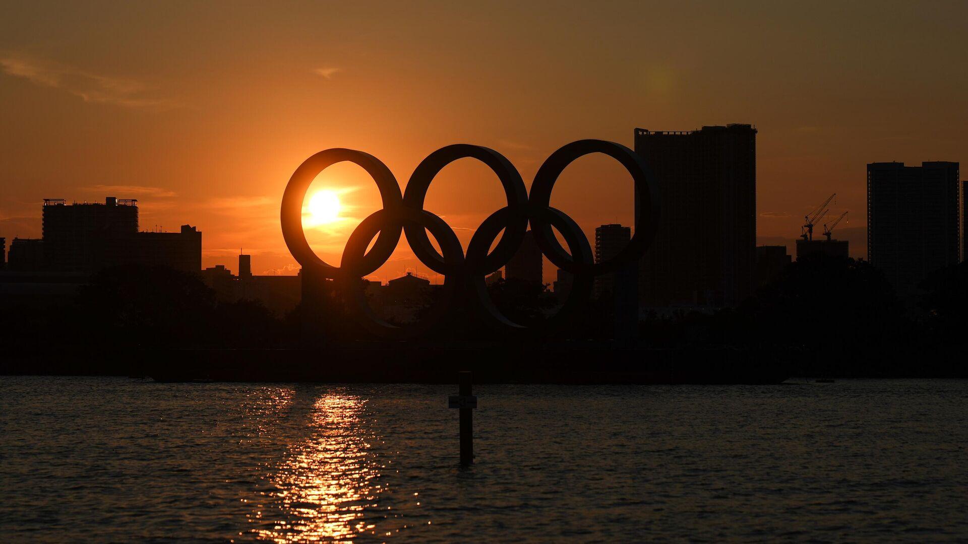 Символика Олимпийских игр в Токио - РИА Новости, 1920, 23.07.2021