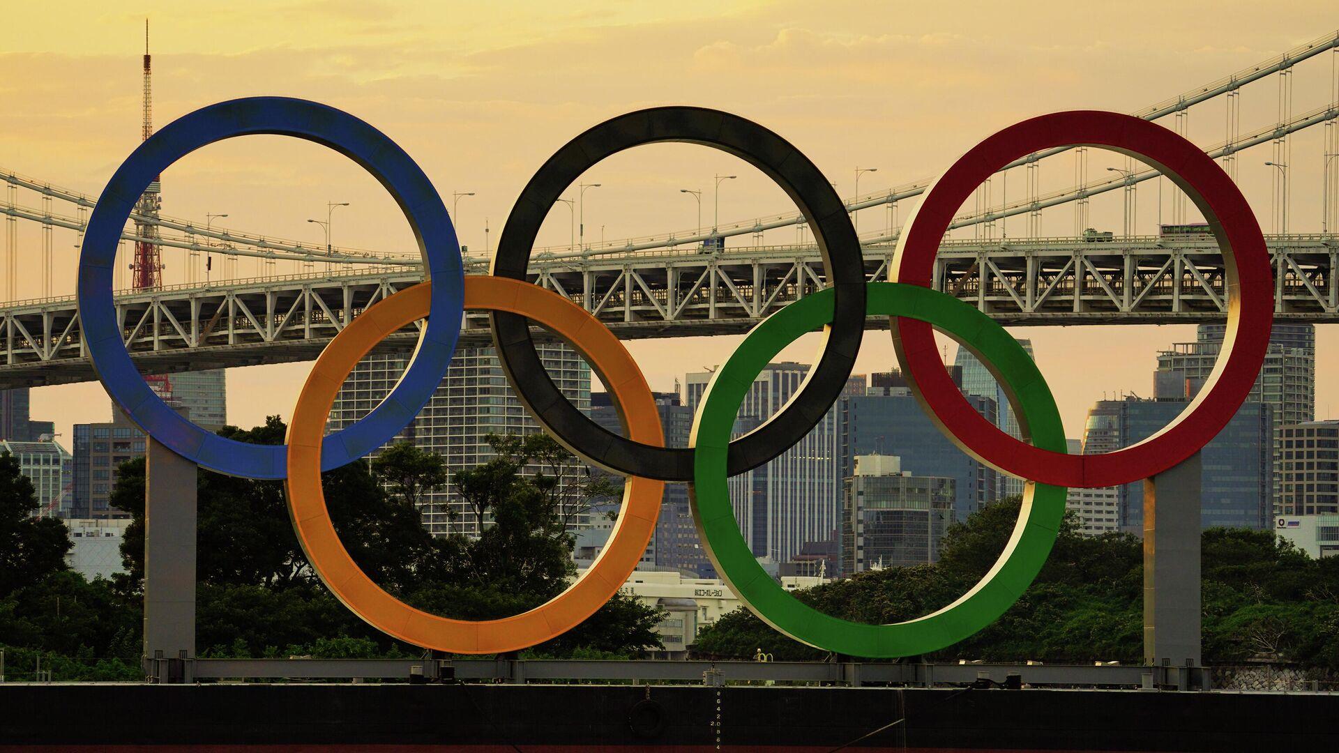 Символика Олимпийских игр в Токио - РИА Новости, 1920, 22.07.2021