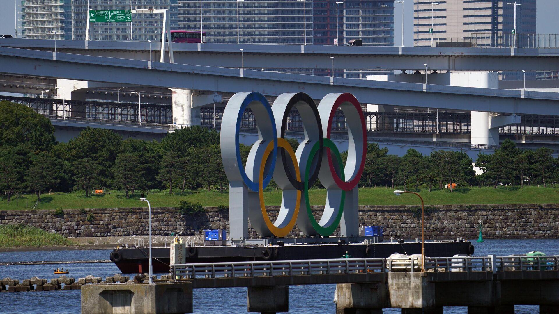 Токио накануне открытия Олимпийских игр - РИА Новости, 1920, 23.07.2021