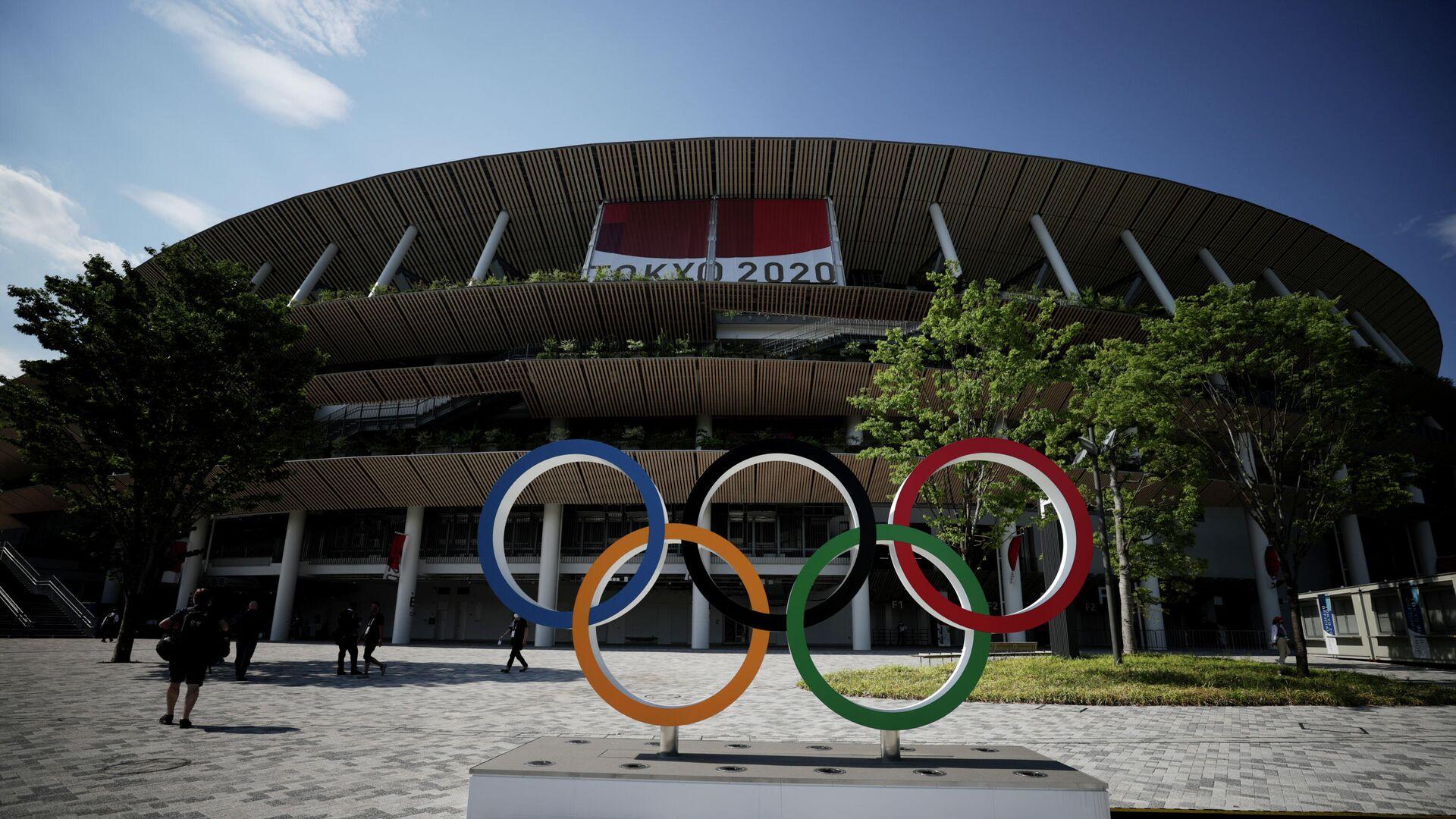 Олимпийский стадион в Токио, Япония - РИА Новости, 1920, 23.07.2021