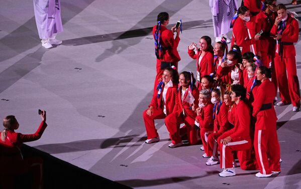Церемония открытия XXXII летних Олимпийских игр