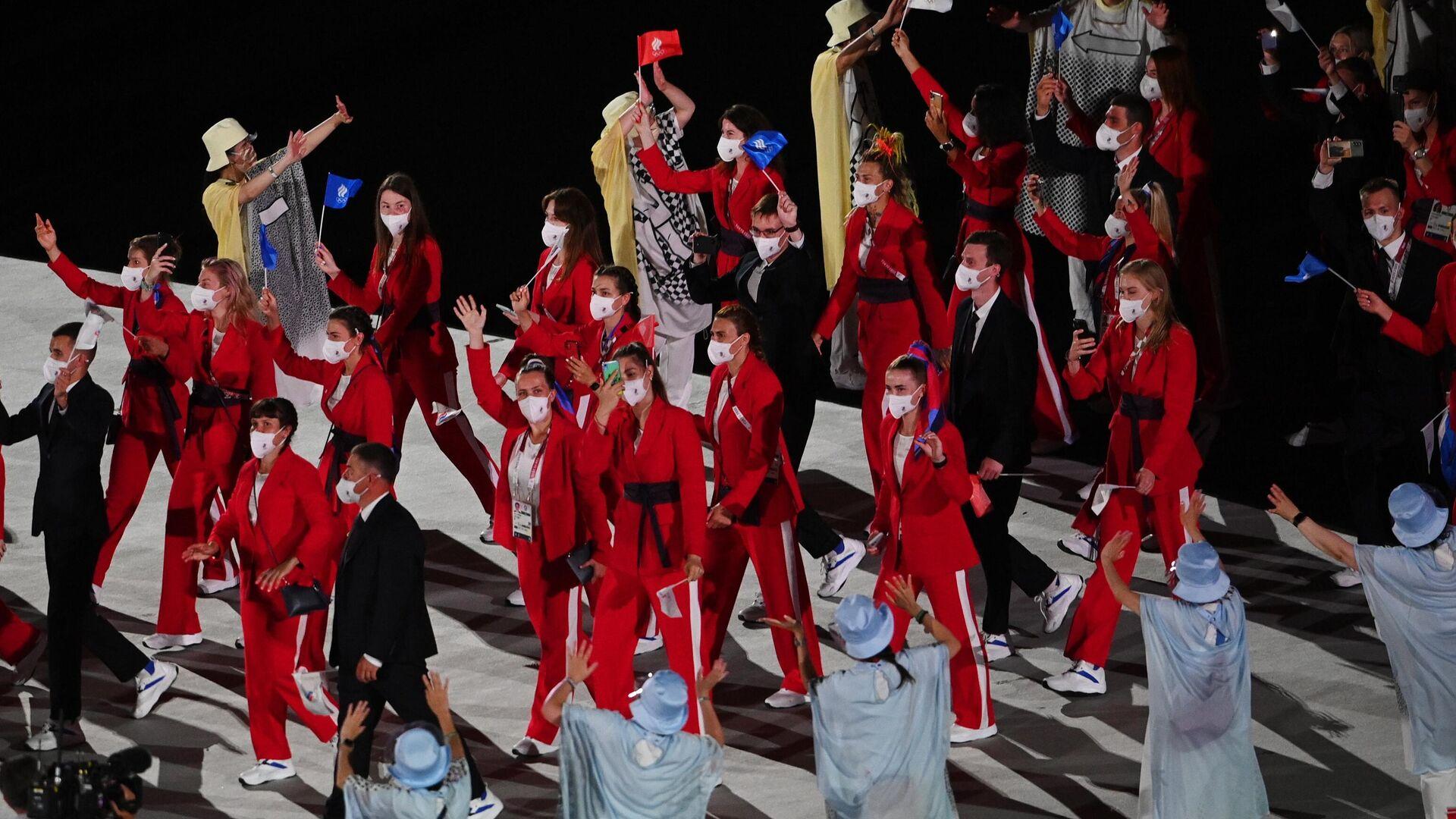 Церемония открытия XXXII летних Олимпийских игр - РИА Новости, 1920, 23.07.2021