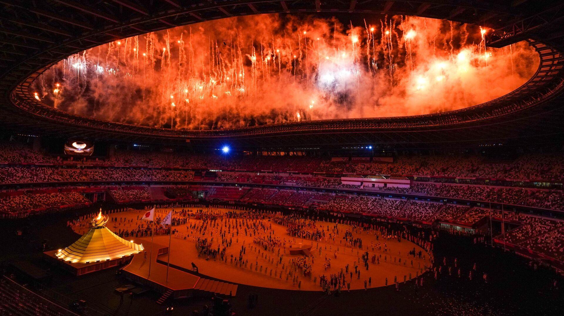 Церемония открытия XXXII летних Олимпийских игр - РИА Новости, 1920, 27.09.2021