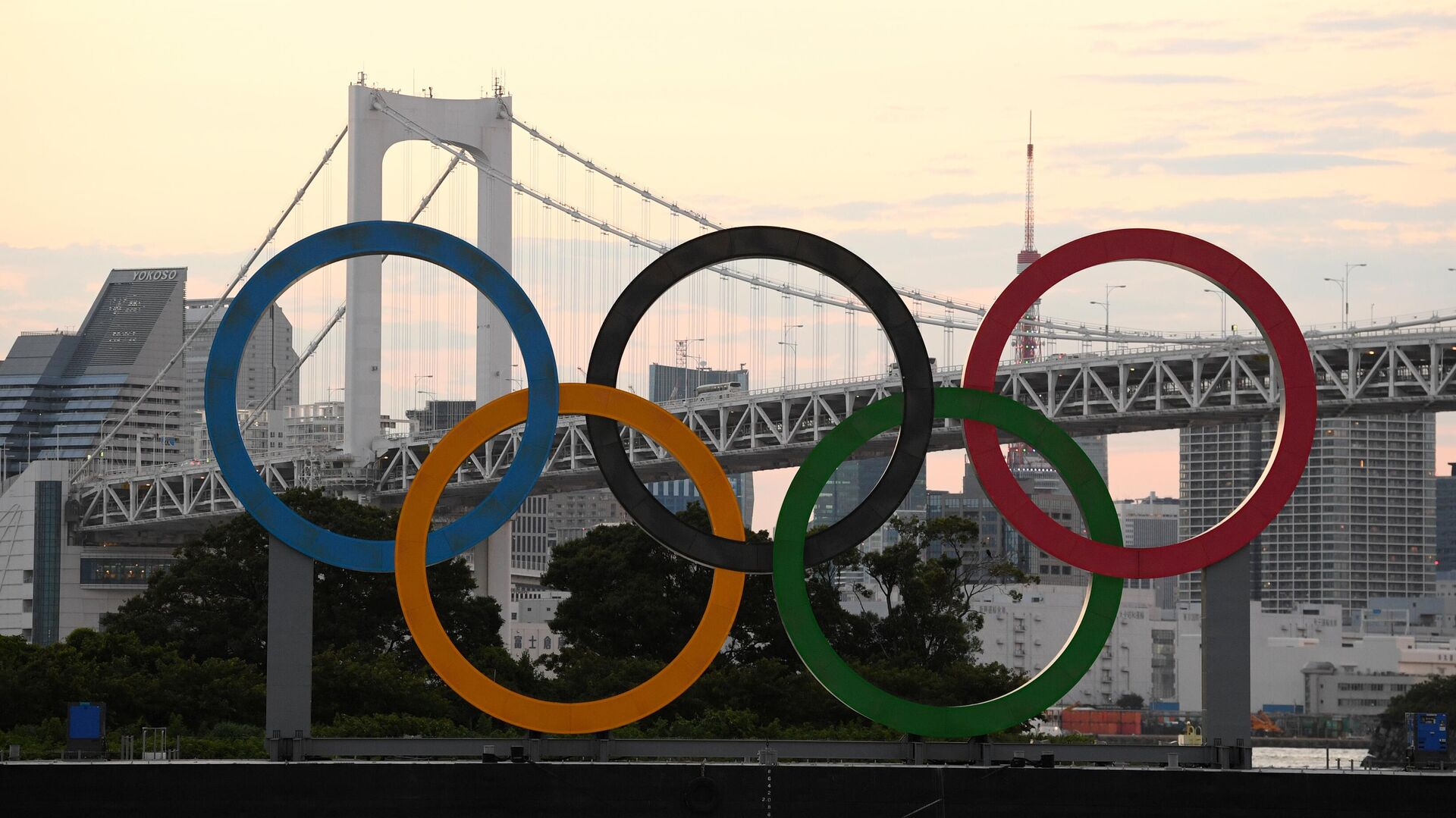 Токио накануне открытия Олимпийских игр - РИА Новости, 1920, 27.07.2021