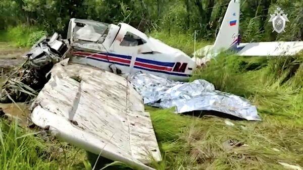 Крушение легкомоторного самолёта под Хабаровском