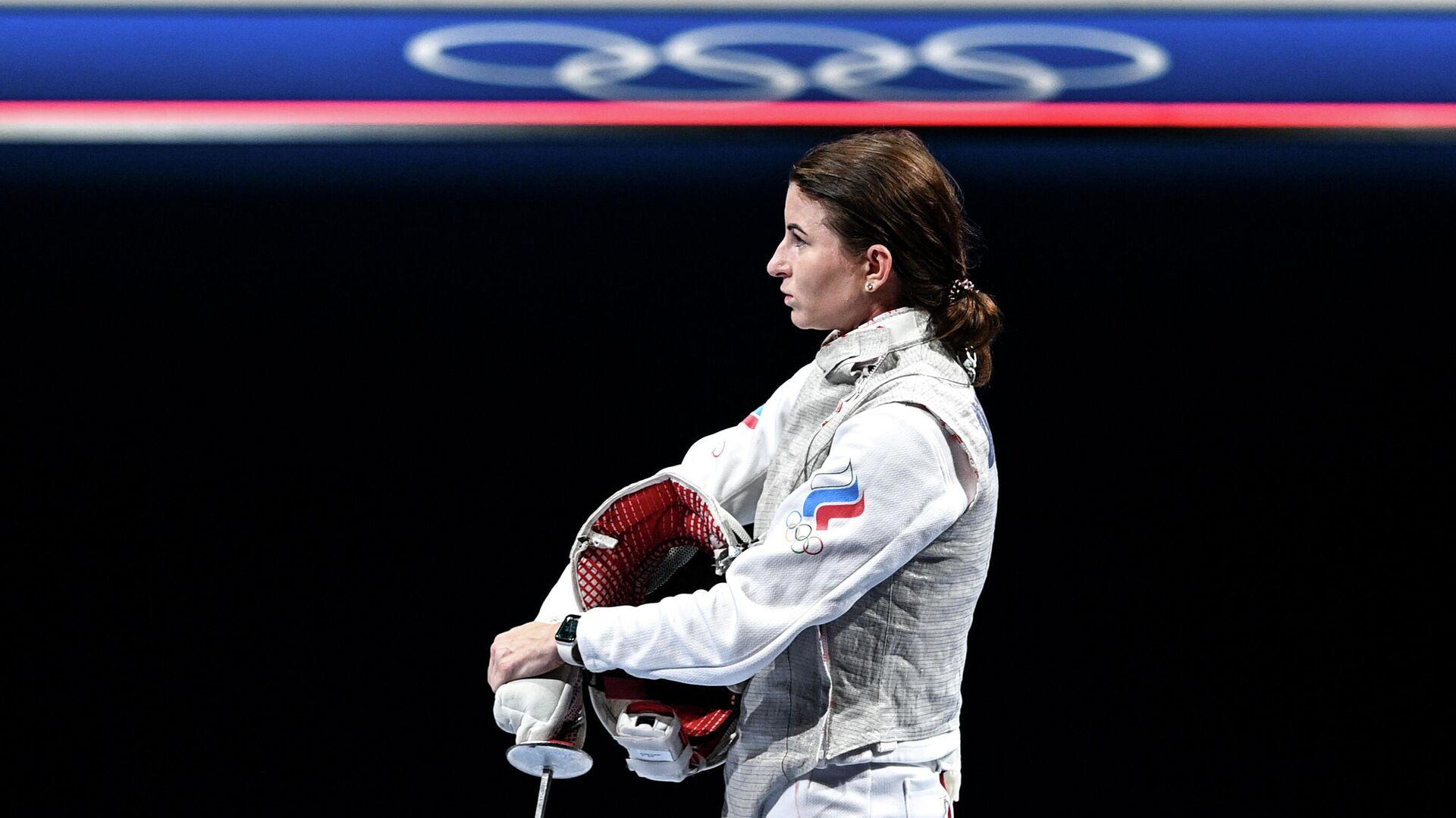 Олимпиада-2020. Фехтование. Женщины. Рапира - РИА Новости, 1920, 25.07.2021