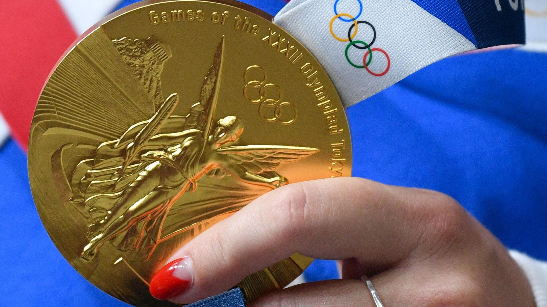 Олимпиада-2020. Стрельба. Женщины. Пневматический пистолет. 10 м - РИА Новости, 1920, 26.07.2021