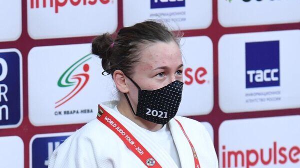 Российская дзюдоистка Дарья Межецкая