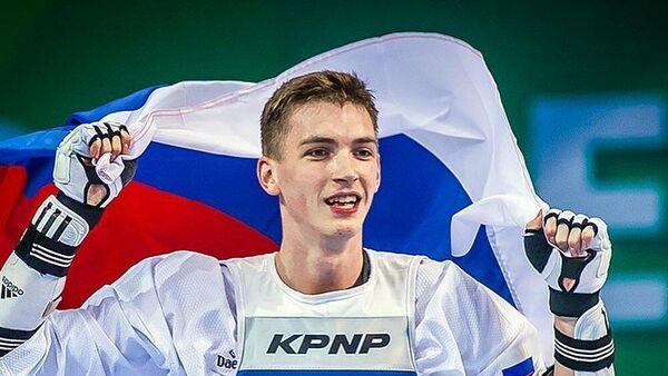 Российский тхэквондист Максим Храмцов