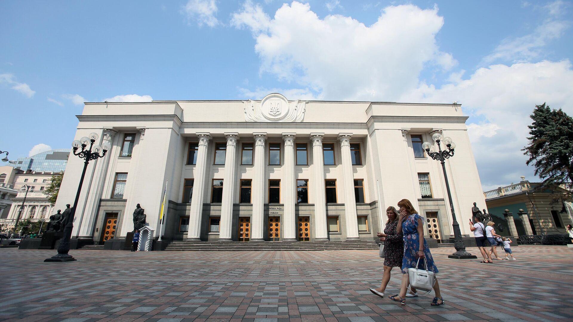 Здание Верховной рады Украины в Киеве - РИА Новости, 1920, 07.09.2021