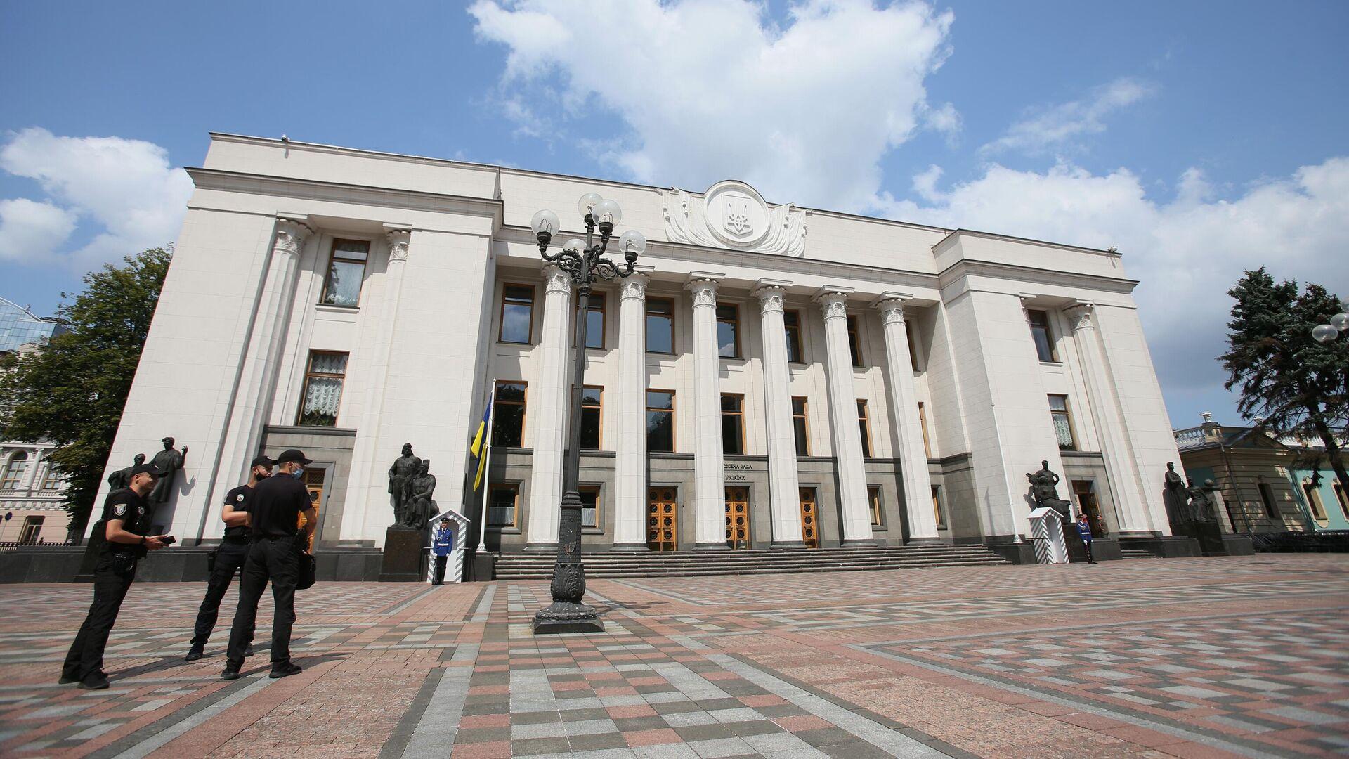 Здание Верховной рады Украины в Киеве - РИА Новости, 1920, 01.10.2021