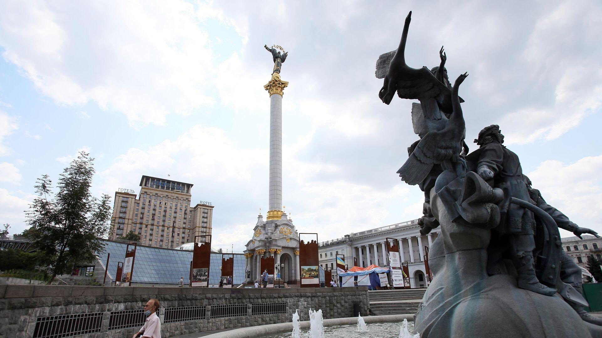 Площадь Независимости в Киеве - РИА Новости, 1920, 29.07.2021