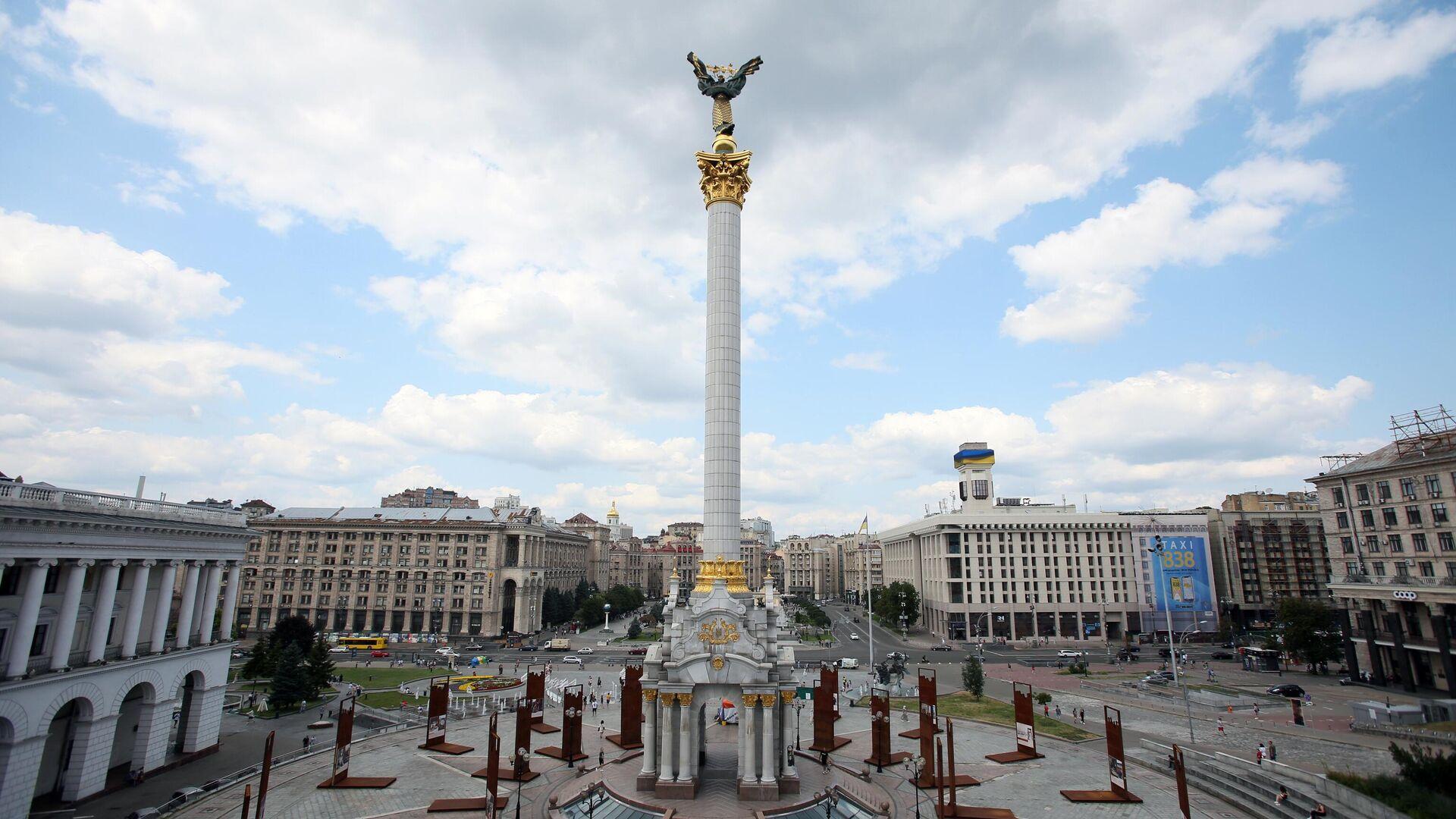 Площадь Независимости в Киеве - РИА Новости, 1920, 28.09.2021
