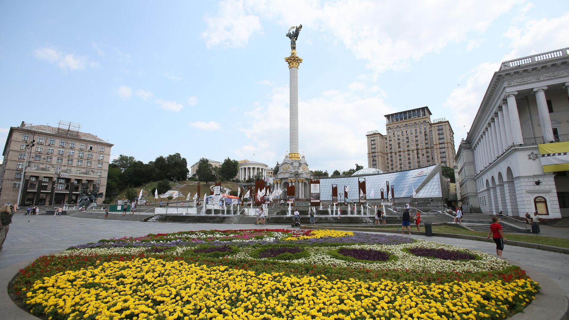 Площадь Независимости в Киеве - РИА Новости, 1920, 23.09.2021