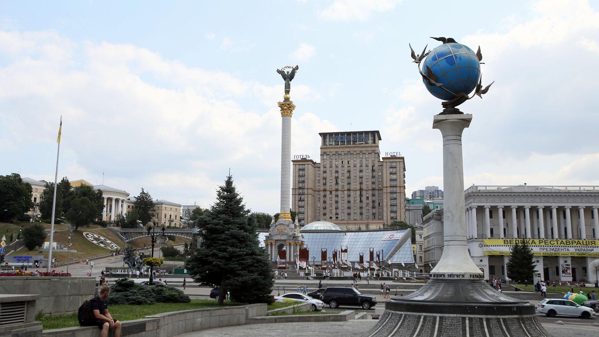 Площадь Независимости в Киеве - РИА Новости, 1920, 12.09.2021