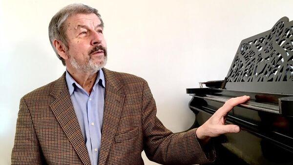 Профессор Московской консерватории Владимир Сканави
