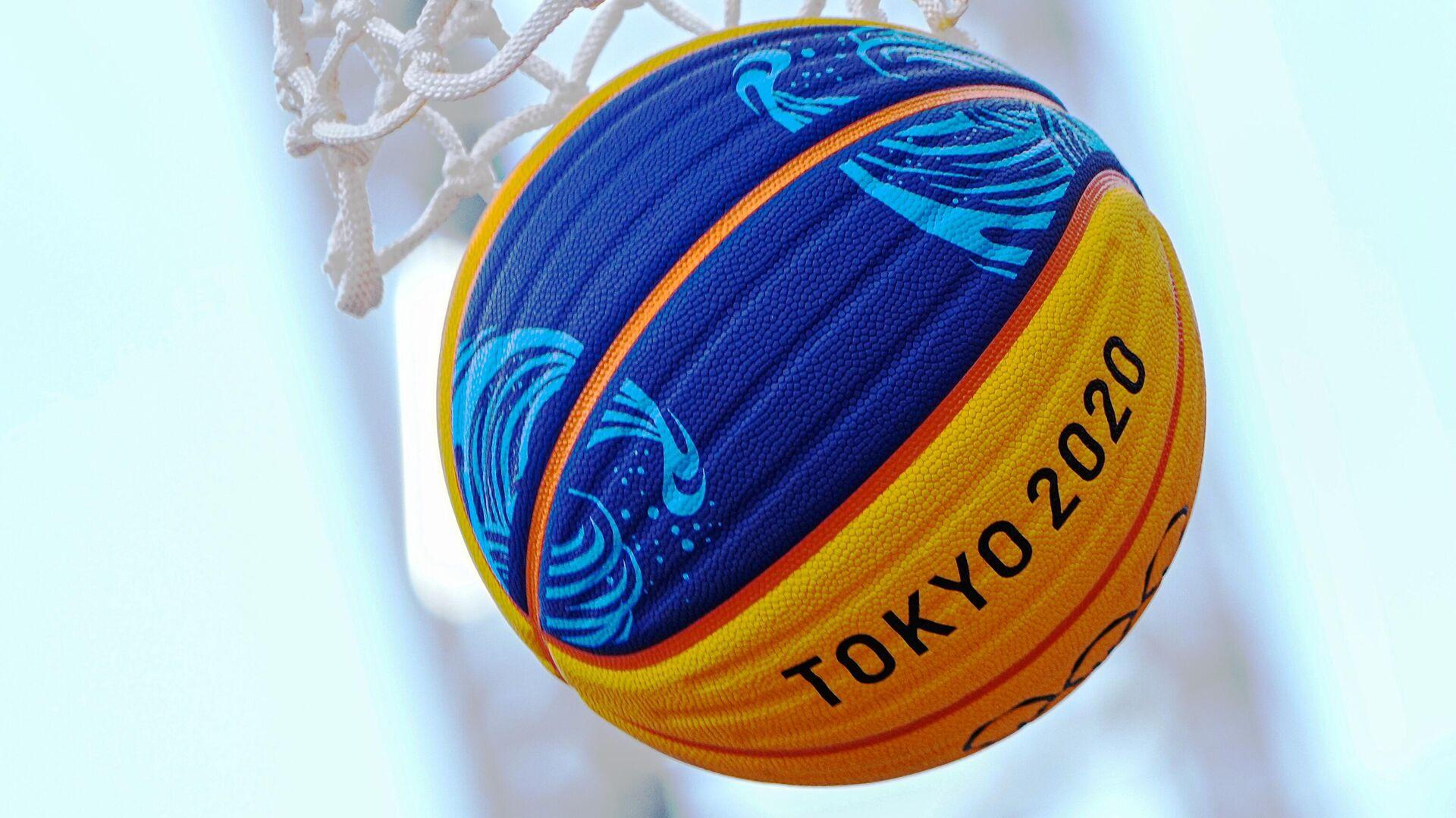 Баскетбольный мяч - РИА Новости, 1920, 29.07.2021