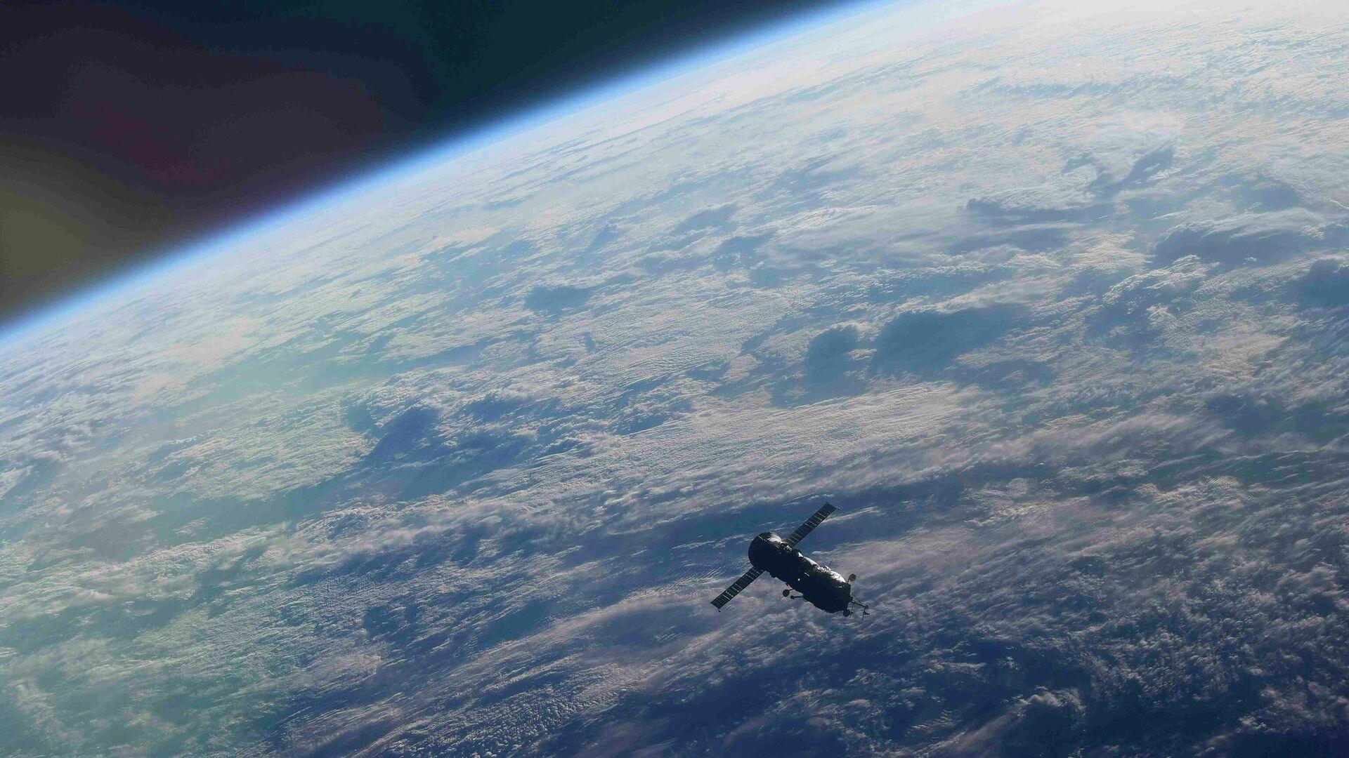 Модуль Пирс после отстыковки от МКС - РИА Новости, 1920, 26.07.2021