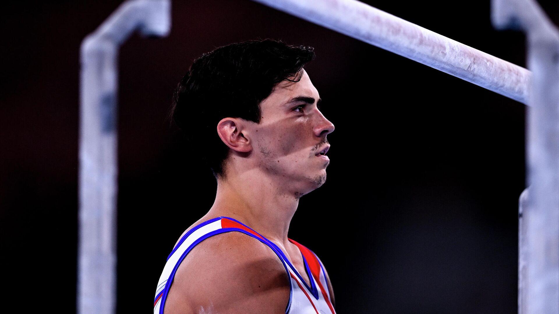 Олимпиада-2020. Спортивная гимнастика. Мужчины. Командное многоборье - РИА Новости, 1920, 27.07.2021