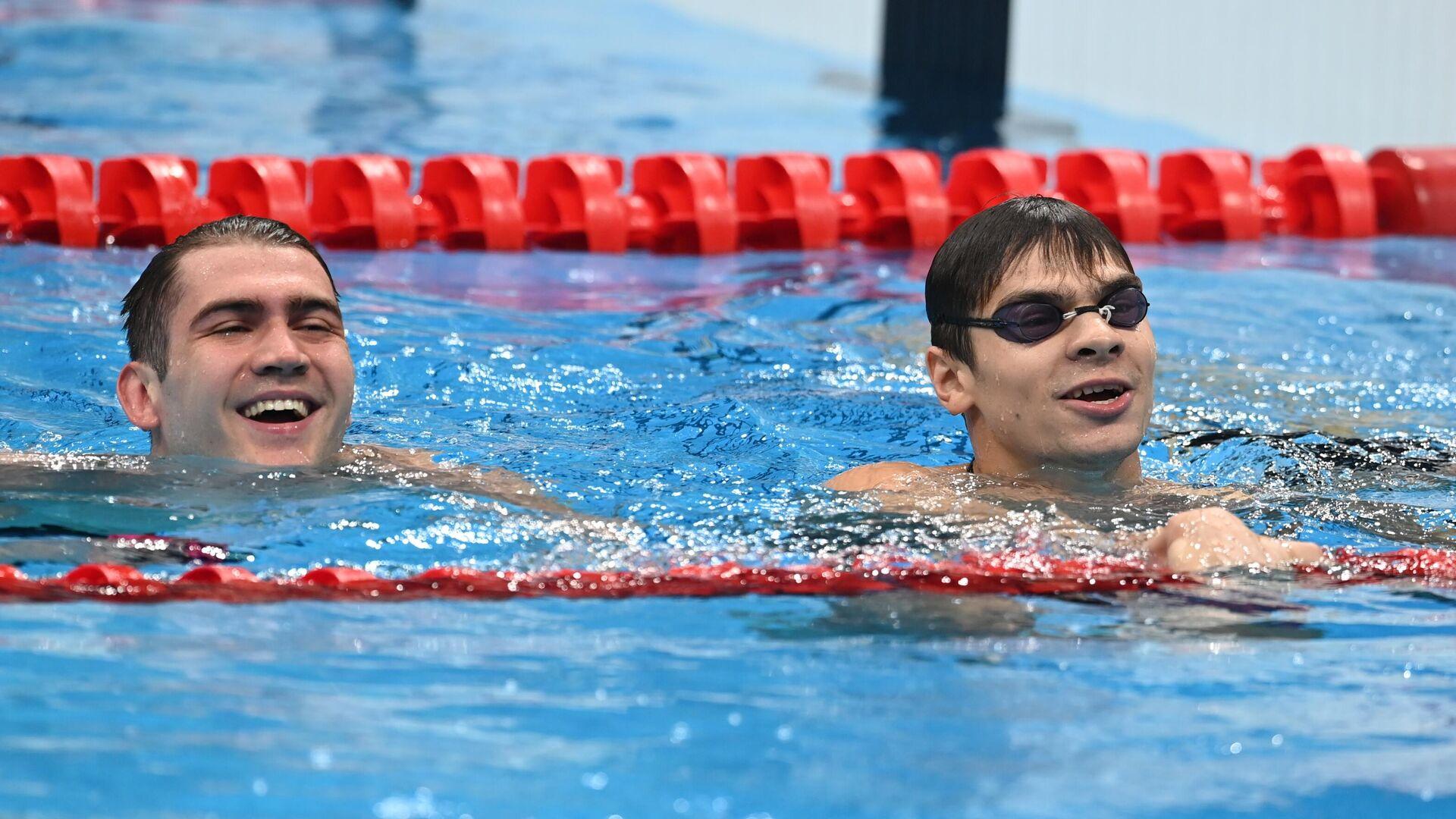 Олимпиада-2020. Плавание. Третий день - РИА Новости, 1920, 27.07.2021