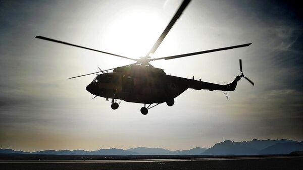 Вертолет ВВС Афганистана
