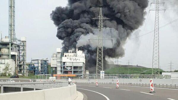 Взрыв на мусоросжигающем предприятии в немецком Леверкузене