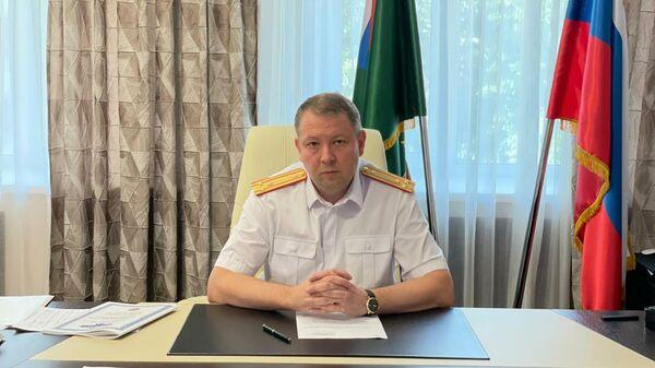 Руководитель Западного межрегионального следственного управления на транспорте Следственного комитета РФ Павел Веменец