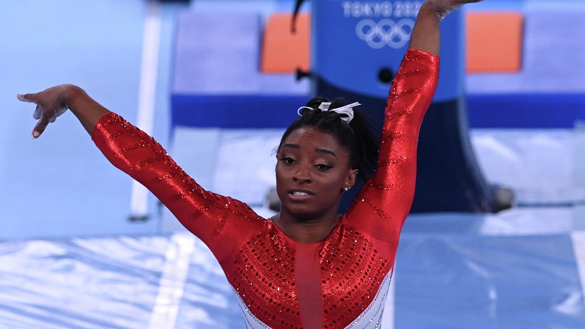 Олимпиада-2020. Спортивная гимнастика. Женщины. Командное многоборье - РИА Новости, 1920, 31.07.2021