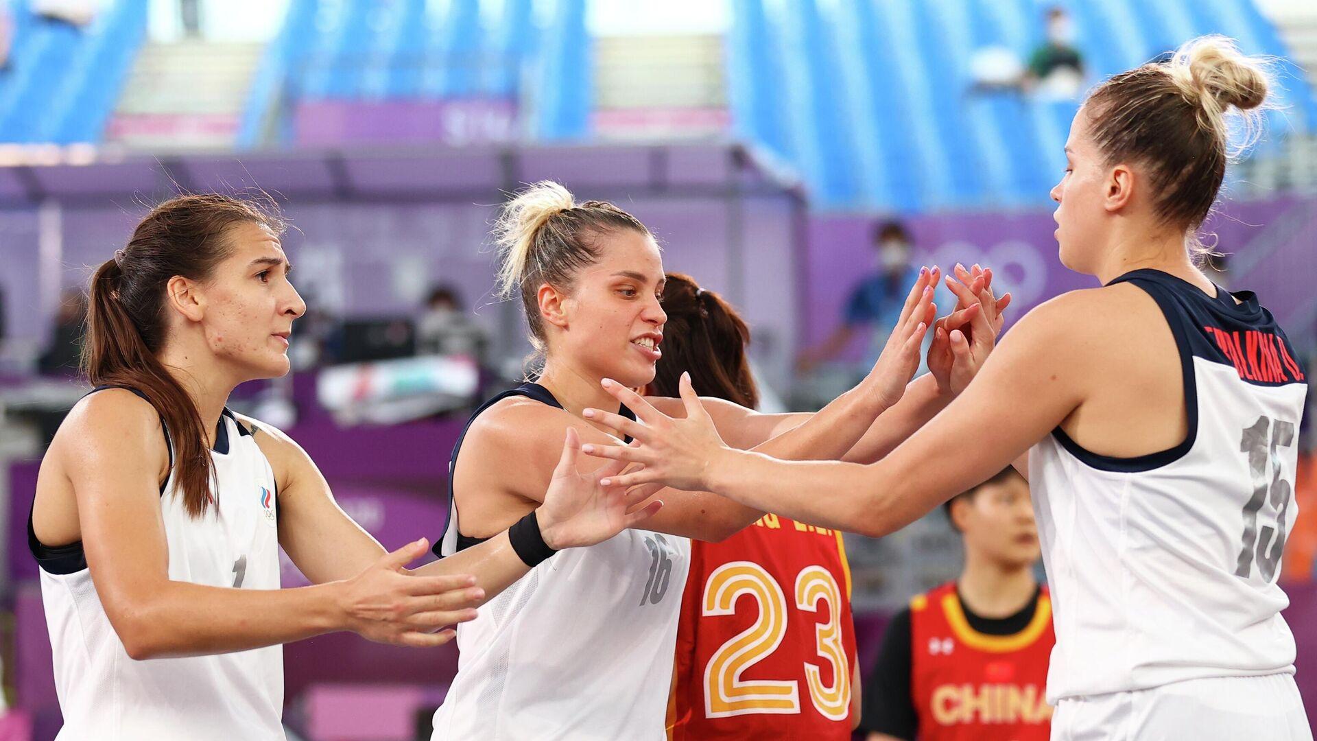 Женская сборная России по баскетболу 3х3 - РИА Новости, 1920, 28.07.2021