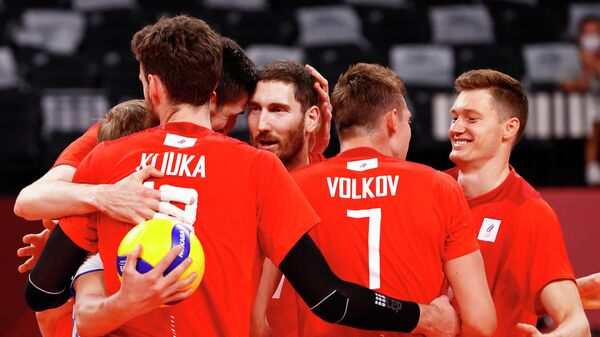 Российские волейболисты на Олимпийских играх в Токио