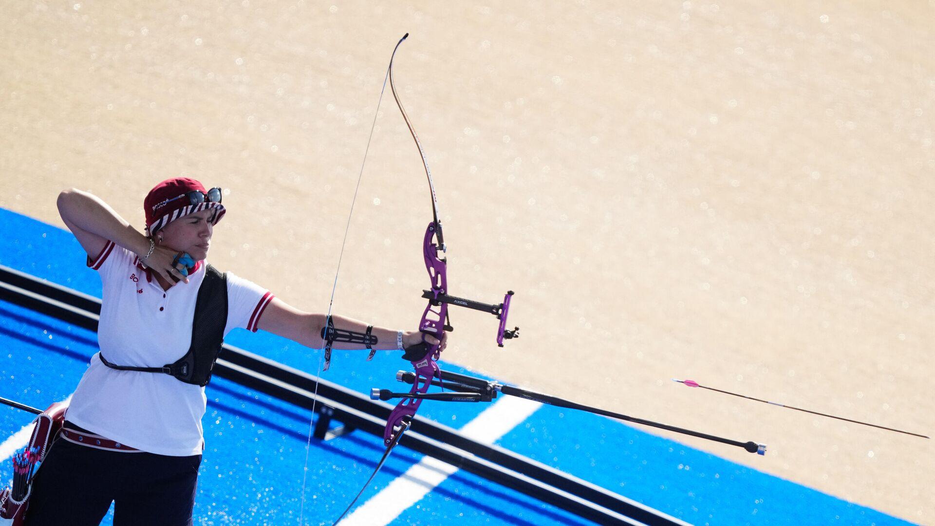 Олимпиада-2020. Стрельба из лука. Женщины. Командное первенство - РИА Новости, 1920, 29.07.2021