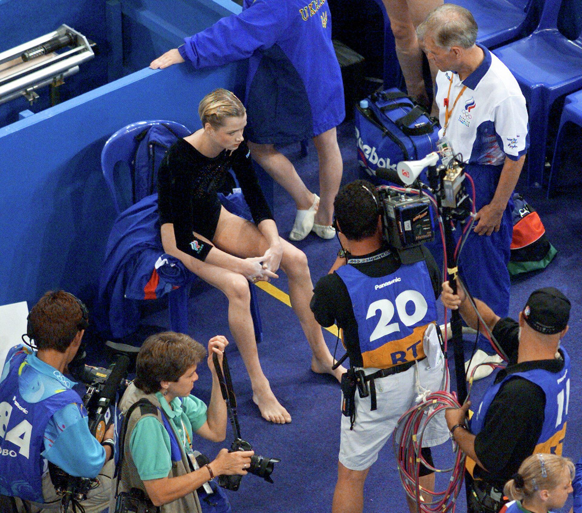Российская гимнастка Светлана Хоркина на Олимпиаде-2000 в Сиднее - РИА Новости, 1920, 30.07.2021